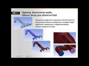Embedded thumbnail for Принципы работы сеточного генератора ANSYS FLUENT Meshing
