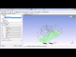 Embedded thumbnail for ANSYS CFX для расчета течения в осевой турбомашине