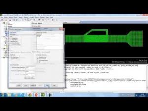 Embedded thumbnail for Моделирование байпасного клапана с использованием Fluent