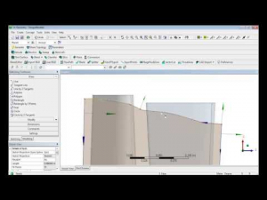 Embedded thumbnail for Параметризация лопатки в модуле ANSYS DesignModeler 16.0.