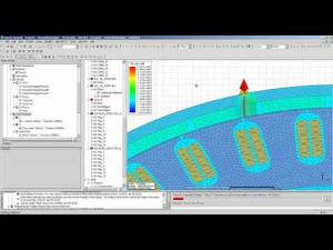 Embedded thumbnail for Моделирование генератора в ANSYS Maxwell 2D/3D и RMxprt