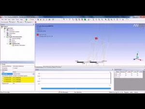 Embedded thumbnail for Параметрический линейный расчет пространственного каркаса