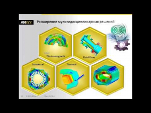 Embedded thumbnail for Новые возможности ANSYS 15.0 для задач электромеханики.