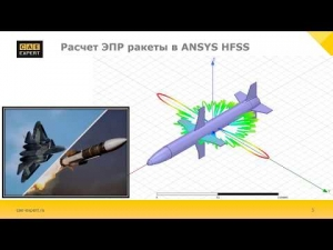 Embedded thumbnail for Расчет ЭПР ракеты (RCS - Radar Cross-Section)