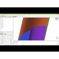 Embedded thumbnail for Построения блочной сетки в ANSYS ICEM CFD