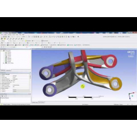 Embedded thumbnail for Вебинар. Особенности импорта в ANSYS геометрических моделей