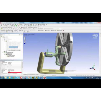 Embedded thumbnail for Применение шарниров (Joints) в ANSYS Mechanical