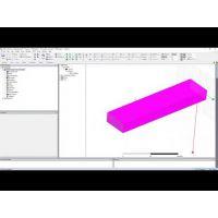 Embedded thumbnail for Модель прямоугольного волновода в HFSS 2020 R1