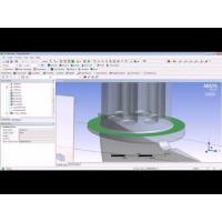 Embedded thumbnail for Построение сетки для участка проточной части турбомашины.